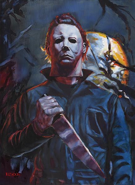 Horror Art Gallery | Horror Paintings & Dark Artwork By ... Leatherface Vs Jason Poster