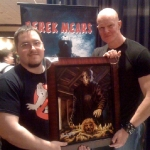 Chris Kuchta with Derek Mears
