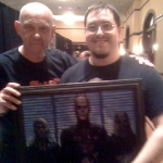 Chris Kuchta with Doug Bradley
