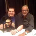 Chris Kuchta with George Romero