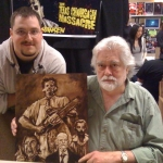Chris Kuchta with Gunnar Hansen