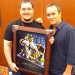 Chris Kuchta with Jeffery Combs