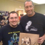 Chris Kuchta with Ken Kirzinger