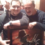 Chris Kuchta with Robert Englund