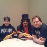 Chris Kuchta with Svengoolie