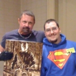 Chris Kuchta with Kane Hodder